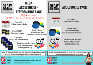 80DAY Accessory bundles