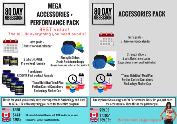 80DAY Accessory bundles